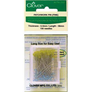 Clover Patchwork Pins (Fine) Art No. 2507