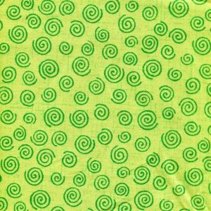 Twister Quilt Backing K9074-Lime