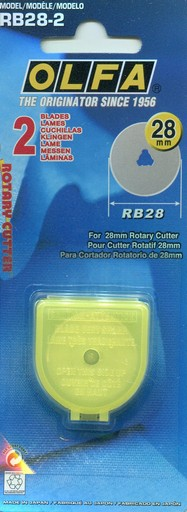 28mm Olfa Rotary Cutter Replacement Blade