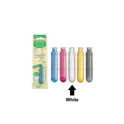 Refill Cartridge for Charco Liner Pen Style - White