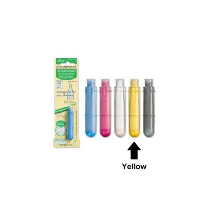 Refill Cartridge for Charco Liner Pen Style - Yellow