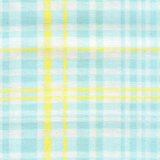 Sanyu Check - Turquoise