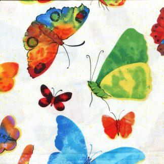 Wing It Butterflies - Cream 2272-10