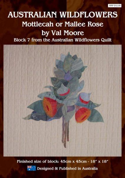 Australian Wildflowers Pattern 7: Mottlecah or Mallee Rose (by Val Moore)