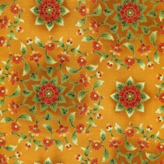 Geometric Floral - Spice