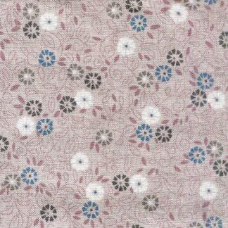 Flower Scroll - Pink D1694P