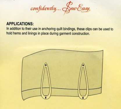 Information on Binding Clips