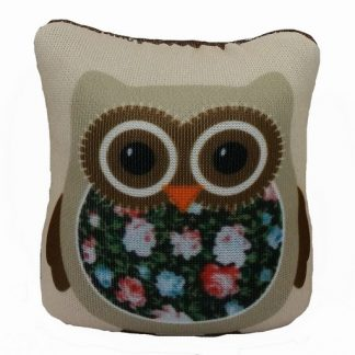 Owl Pin Cushion - Brown