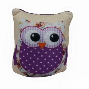 Owl Pin Cushion – Purple