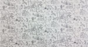 Colour Me Panel: Building Fun - White