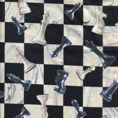 Checkmate - Black and Cream