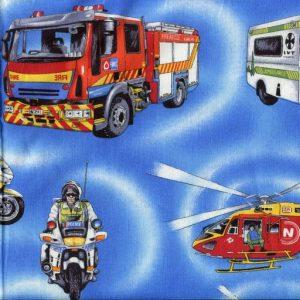 Emergency Vehicles - Blue 88110-101