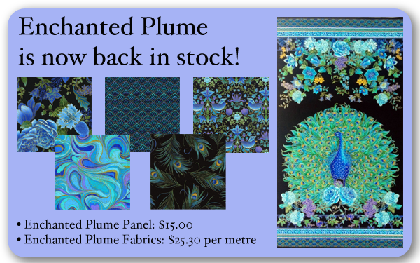 Enchanted Plume back in stock!