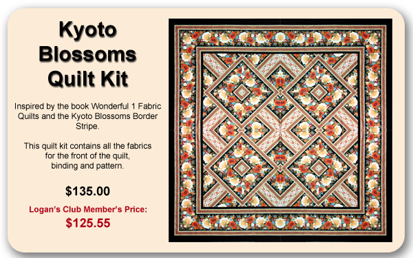 Kyoto Blossoms Quilt Kit