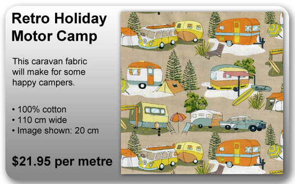 Retro Holiday Motor Camp