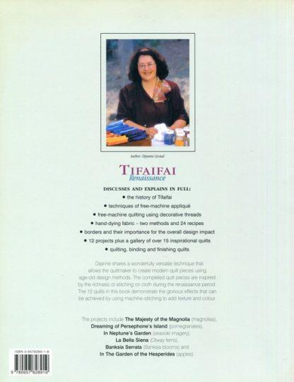 Tifaifai (Book) Back Cover