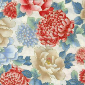 Large Floral 24997-CRE1