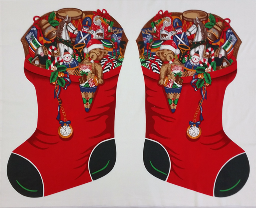 Christmas Stocking Panel (Large) 86270-1