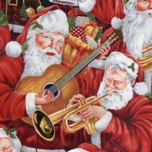 Musical Santa's - Red 88700-1