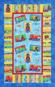 Loco on the Move 2 Quilt Kit