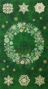 Starry Night Wreath Panel