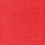Dotted Scroll 23156-Red