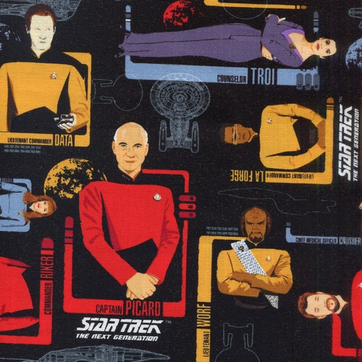 Star Trek TNG The Crew 6320101-1
