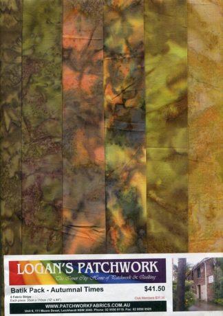 Batik Pack - Autumnal Times