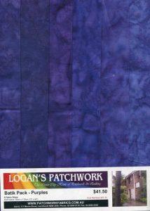 Batik Pack - Purples