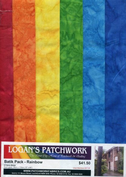 Batik Pack - Rainbow