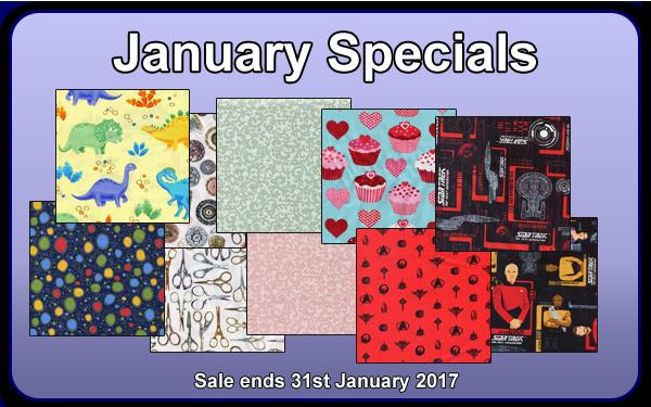 January 2017 Specials