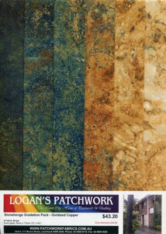 Stonehenge Gradation Pack - Oxidized Copper