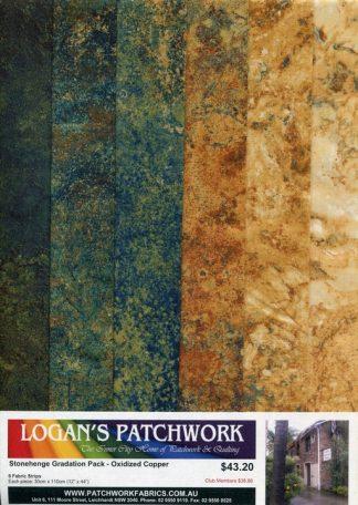 Stonehenge Gradation Pack - Oxidized Copper