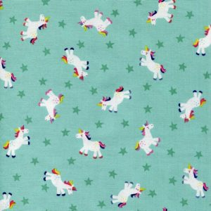 Unicorns - Teal 1817-T