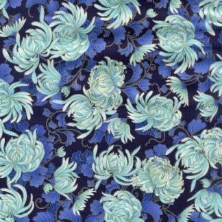 Imperial Chrysanthemums 2754-NAVY