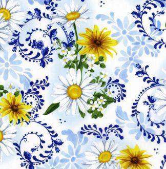 Delft Blooms - Porcelain 2943-1