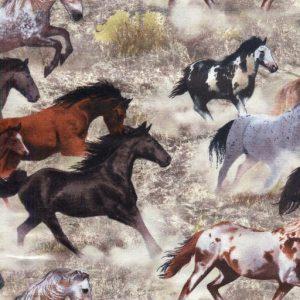 Horses Running 302-Earth