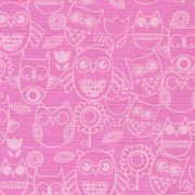 Wings n Things Tonal Owls - Pink 3097-22