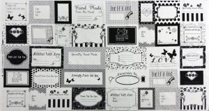 Small Talk Quilt Labels 3140P