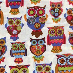 Owl 6697-Cream