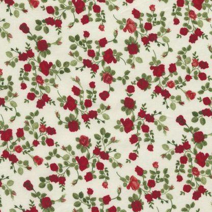 Tiny Roses C5047-Cream