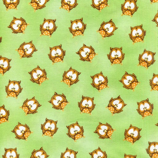 ABC 123 Owls - Green HGAC-6477-66