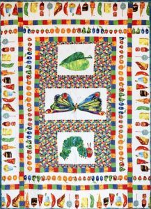 The Very Hungry Caterpillar Quilt Kit
