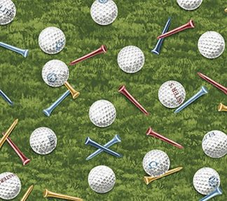 Golf Balls and Tees - Green 21687-76