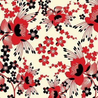 Cherry Blossom - Cream 8548-07