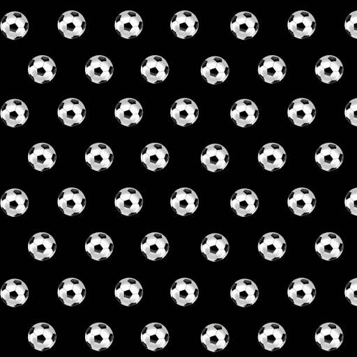 Small Set Soccer Ball - Black 9991-99