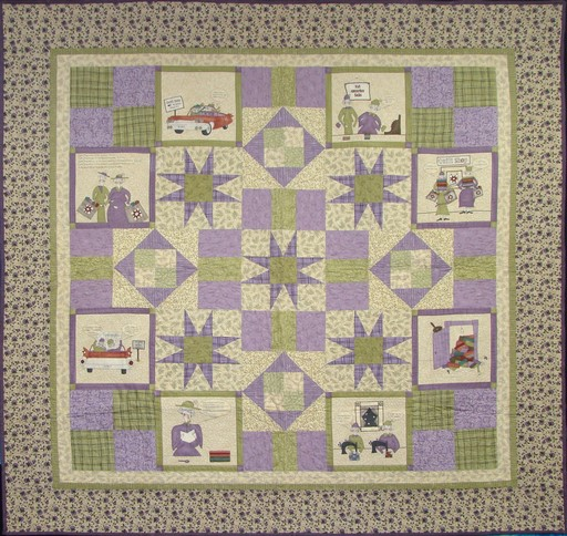 New Quilts Old Friends Quilt Kit
