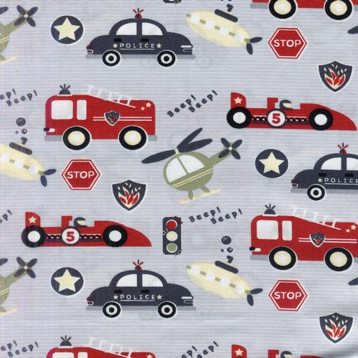 Little Stars Cars 9458-GREY