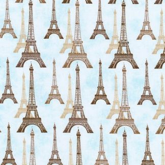 Eiffel Tower - Dusty Blue AFD-16736-68
