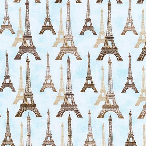 Eiffel Tower - Dusty Blue AFD-16736-68